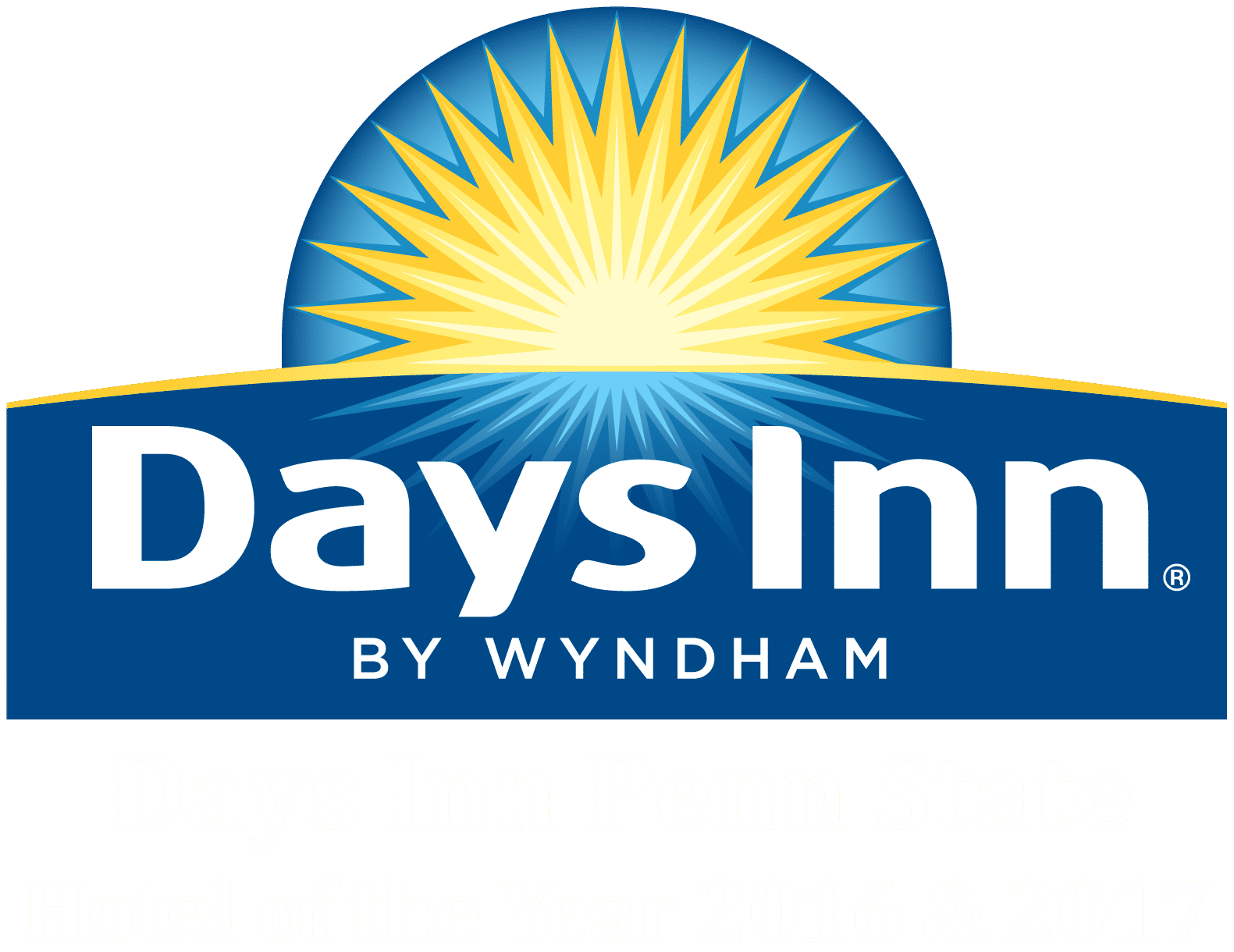 Days Inn Penn State logo, property awards