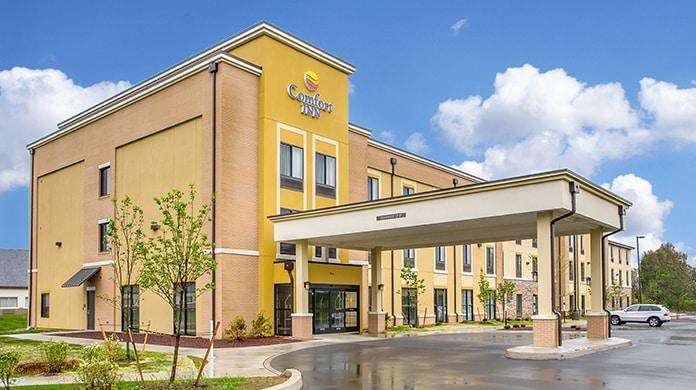 comfort inn carlisle, hospitality asset management company