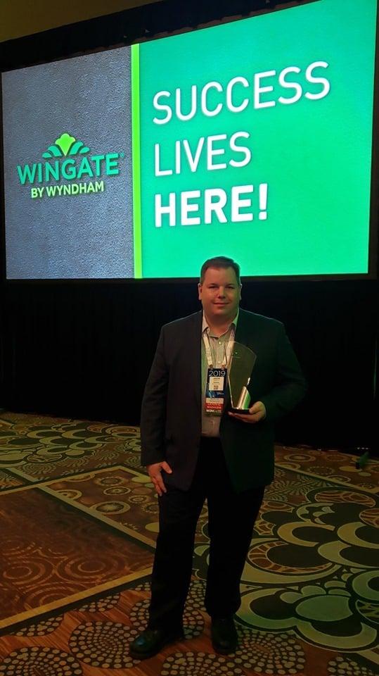 Wingate Quality Hotel Award